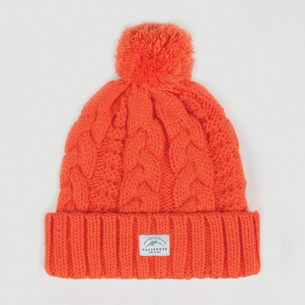 Hoga Bobble Beanie - Orange