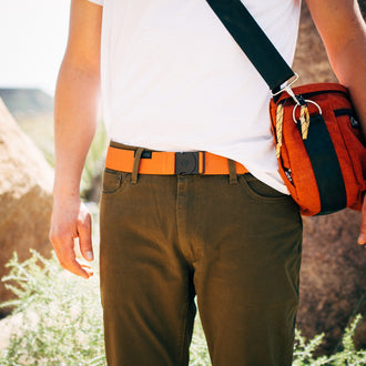 Arcade Ranger Belt - Deep Copper