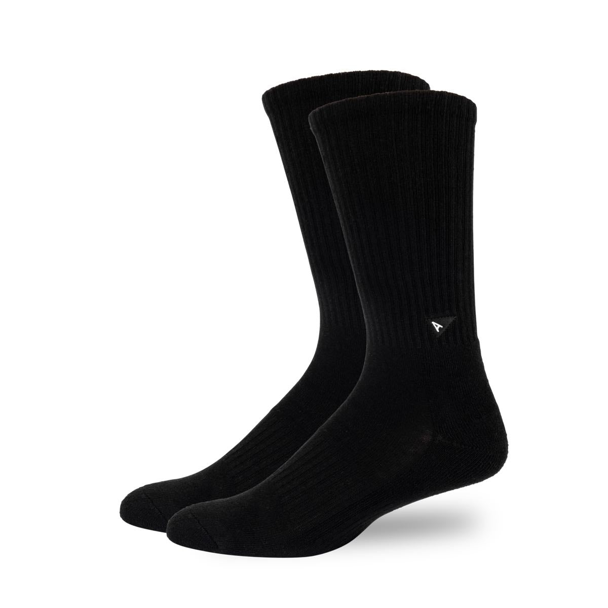 Arvin Goods Long Crew Socks - Black image