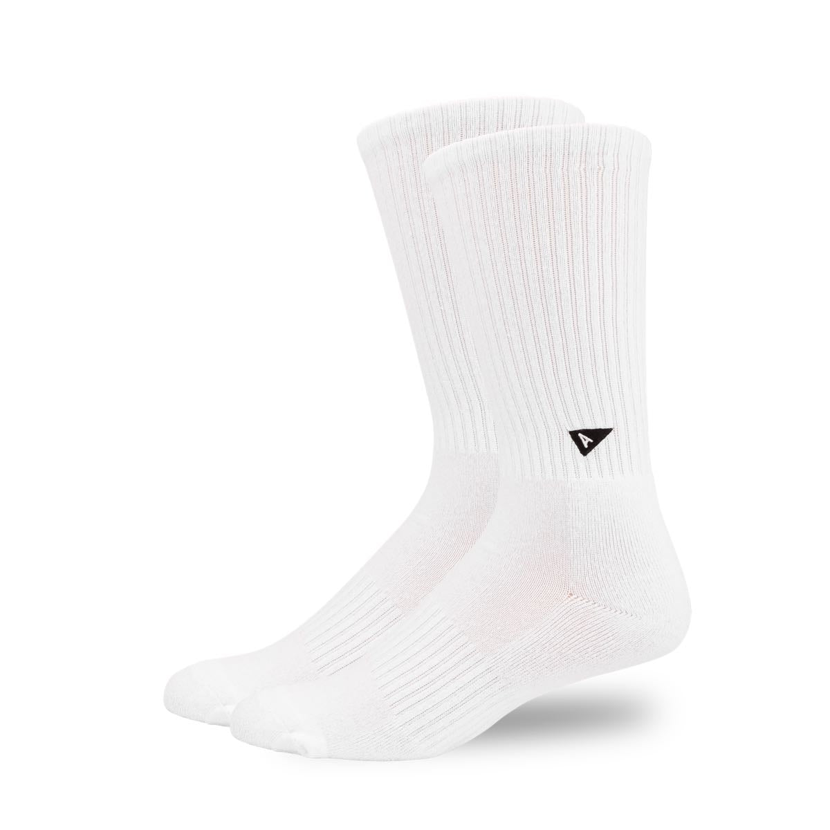 Arvin Goods Long Crew Socks - White image