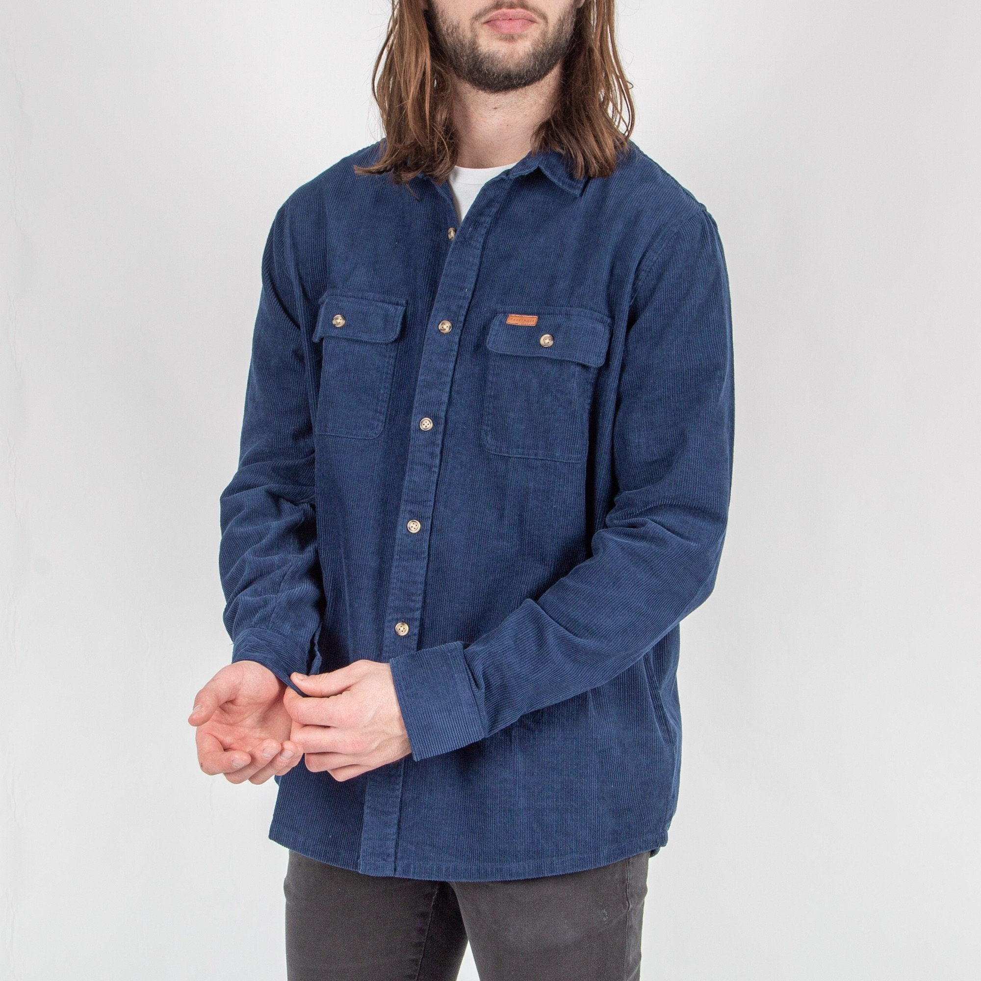 Backcountry Cord Shirt - Dark Denim image 3