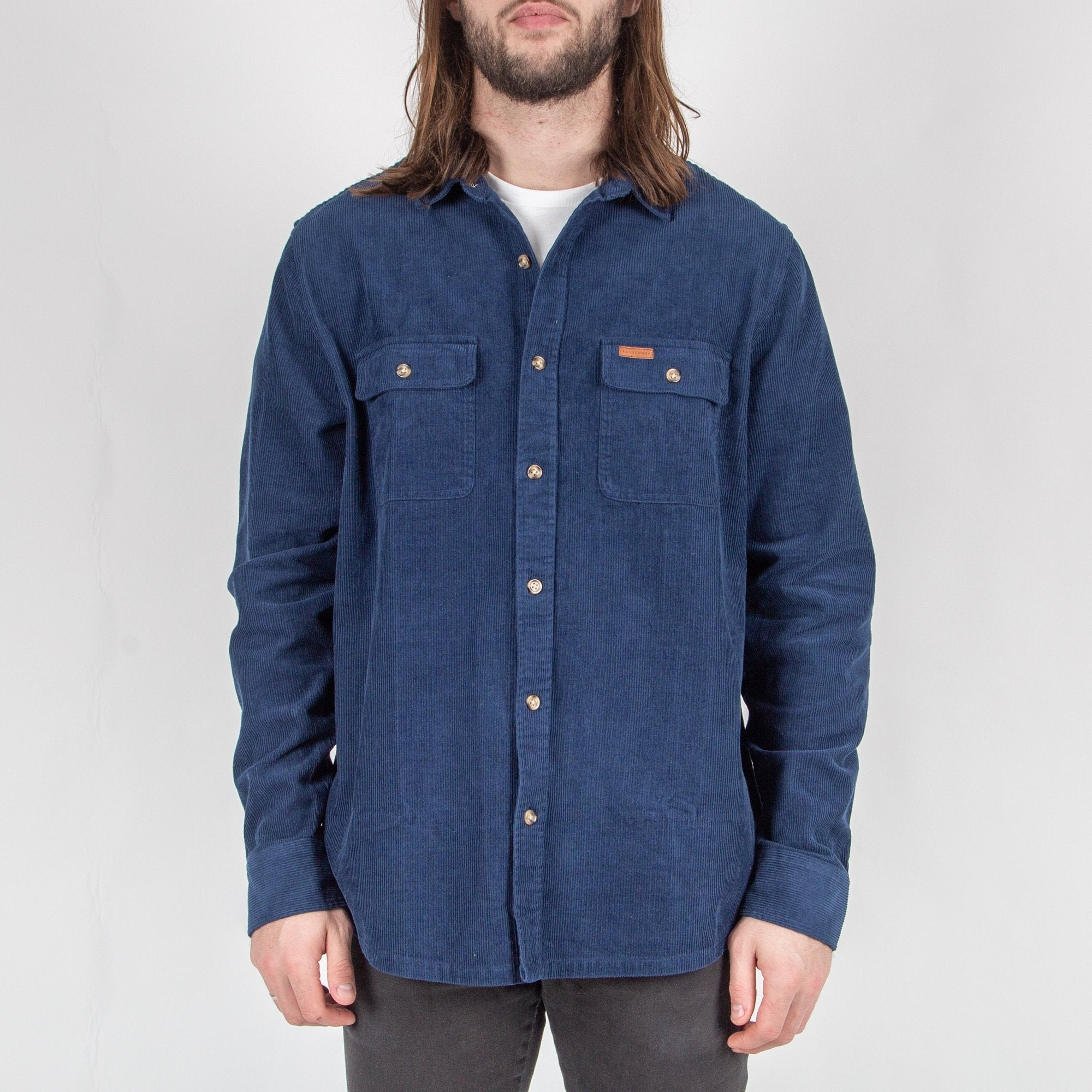Backcountry Cord Shirt - Dark Denim image 5