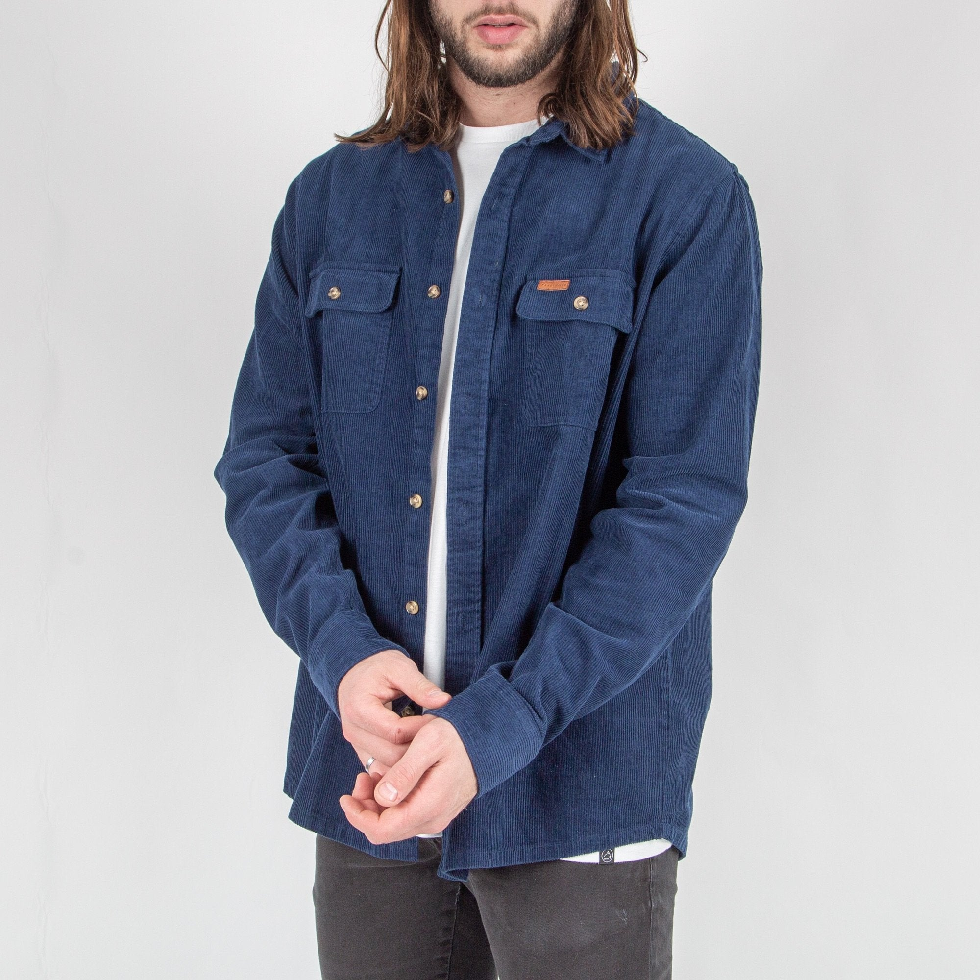 Backcountry Cord Shirt - Dark Denim image 4