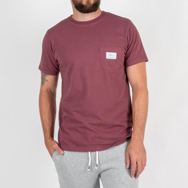 Backroad T-shirt - Grape