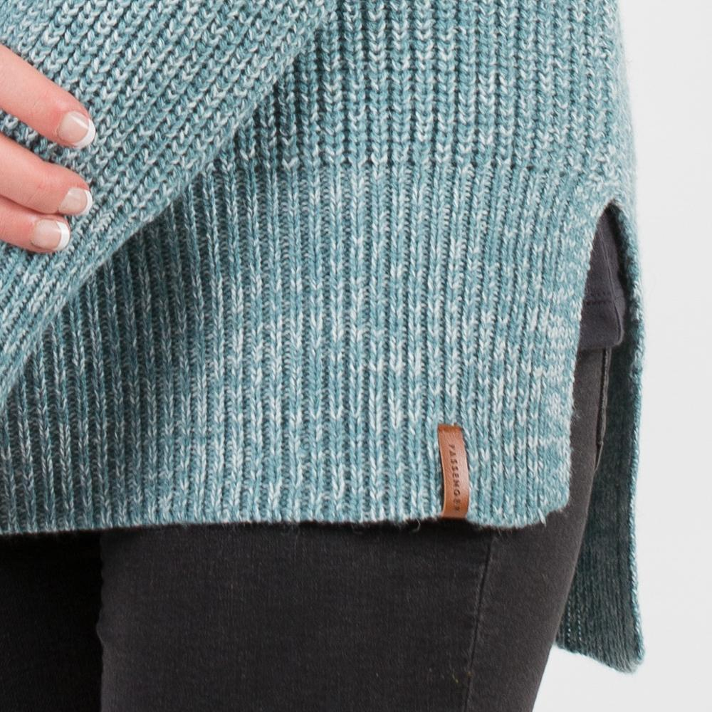 Blue Spruce Knitted Sweater
