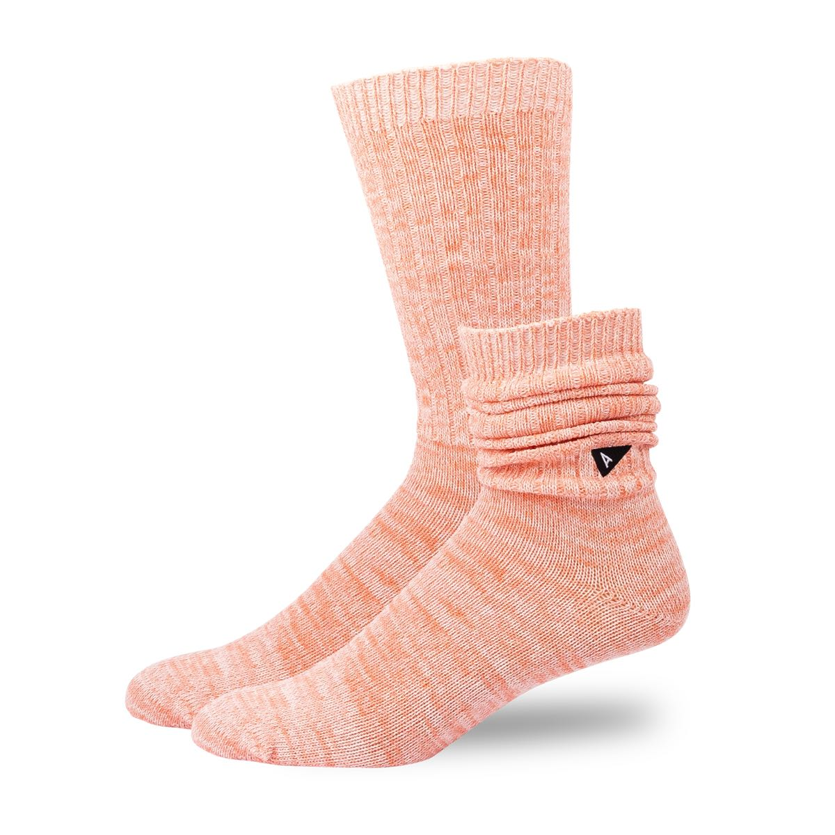 Arvin Goods Casual Twisted Socks - Coral image 2