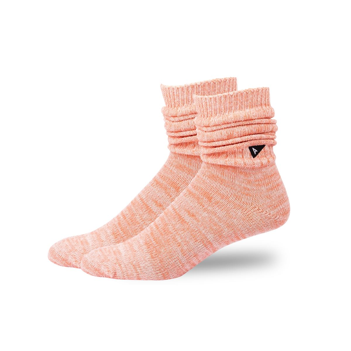 Arvin Goods Casual Twisted Socks - Coral image 3