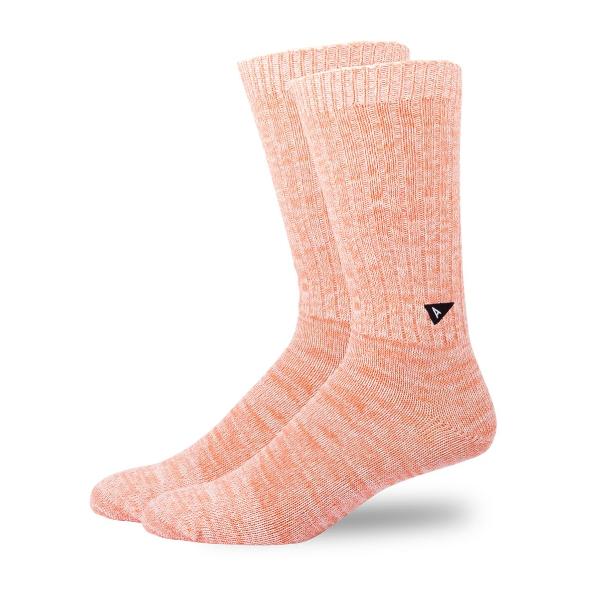 Arvin Goods Casual Twisted Socks - Coral image 1