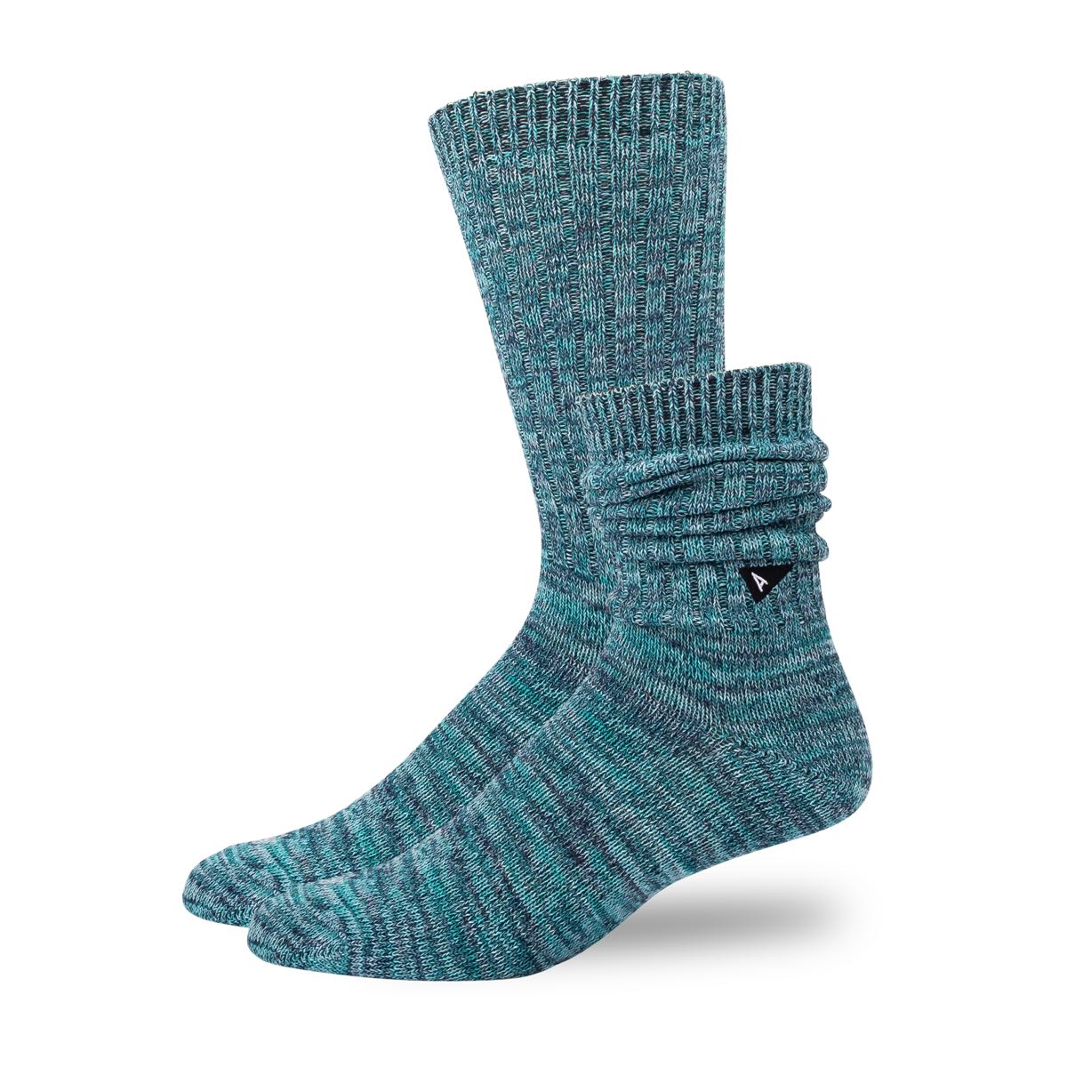 Arvin Goods Casual Twisted Socks - Teal image 2
