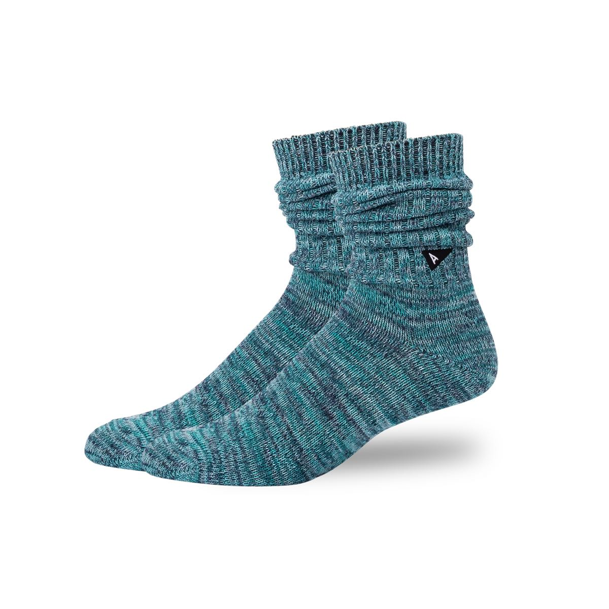 Arvin Goods Casual Twisted Socks - Teal image 3
