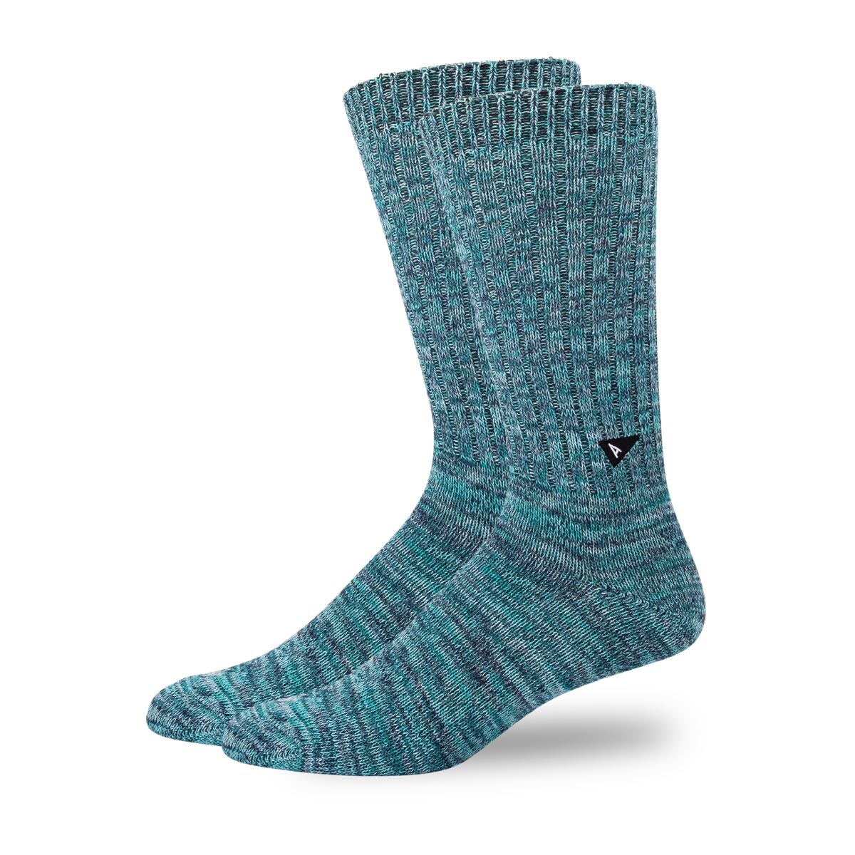 Arvin Goods Casual Twisted Socks - Teal image 1