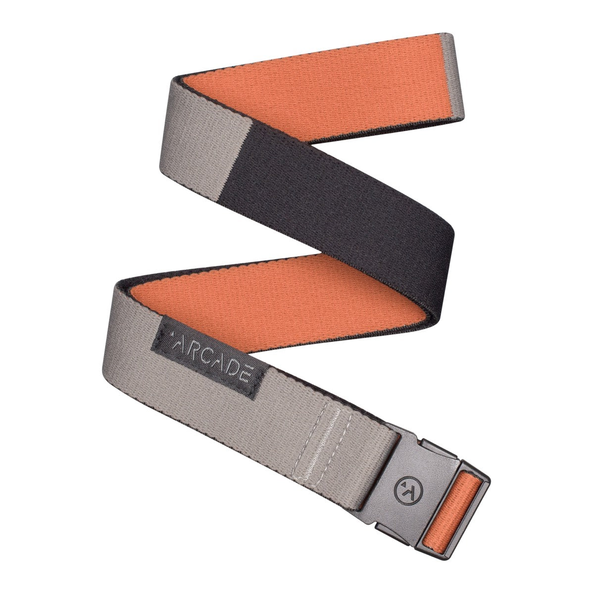 Arcade Ranger Slim Belt - Deep Copper/Colour Block image 2