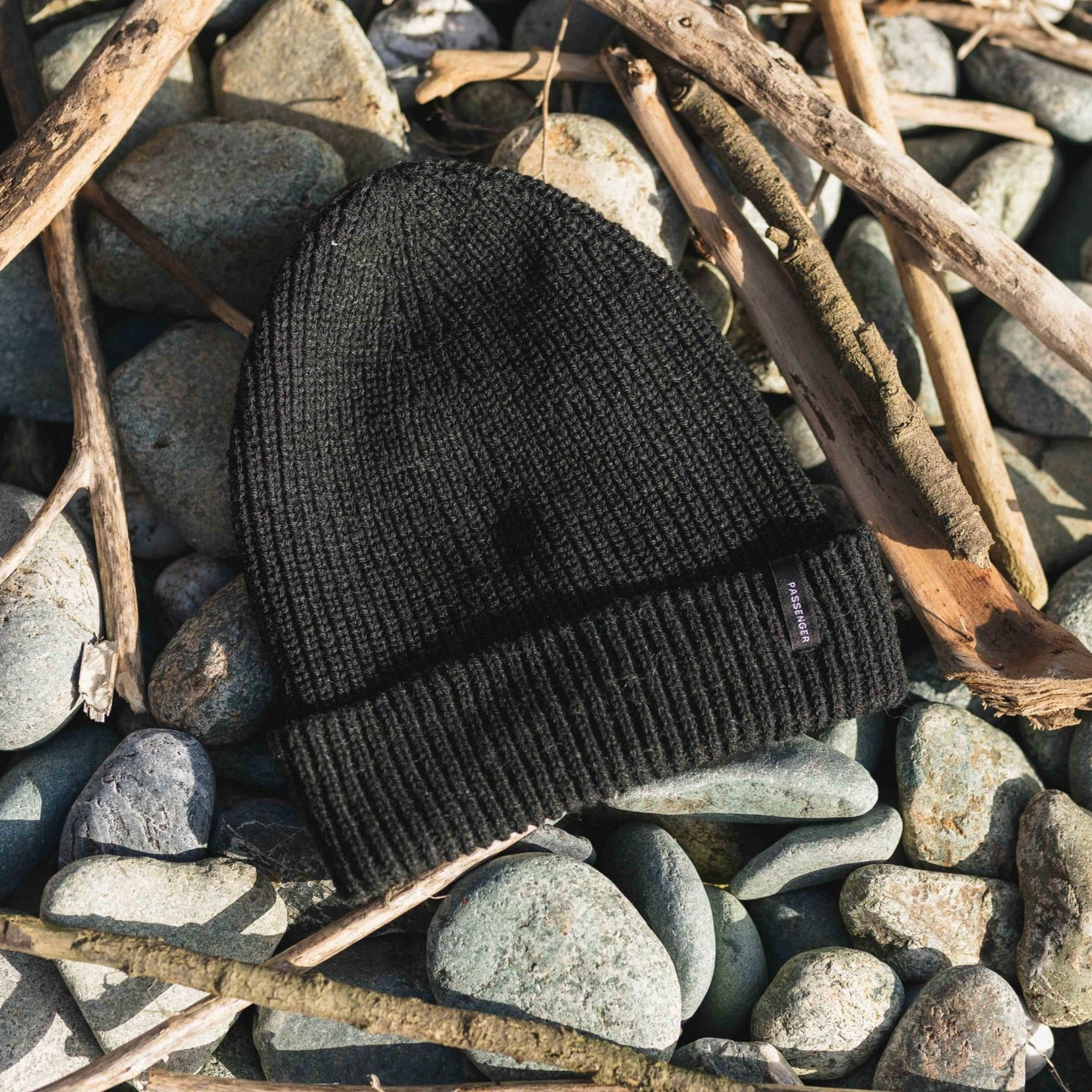 Compass Beanie - Charcoal image 3