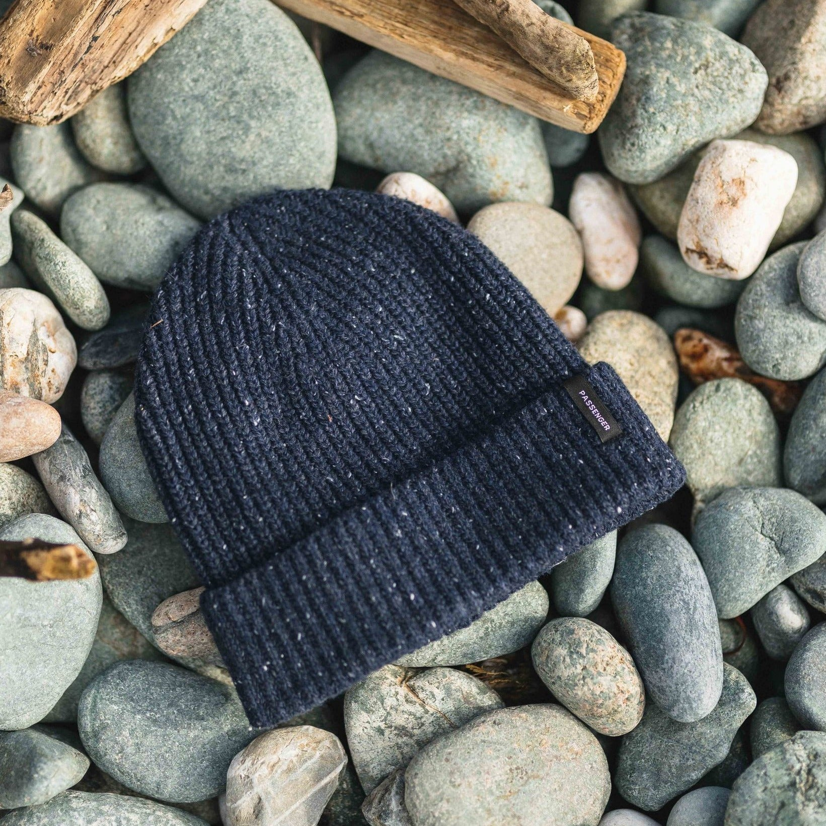 Compass Beanie - Navy image