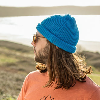 COMPASS BEANIE - BLUE NIGHTS NAVY