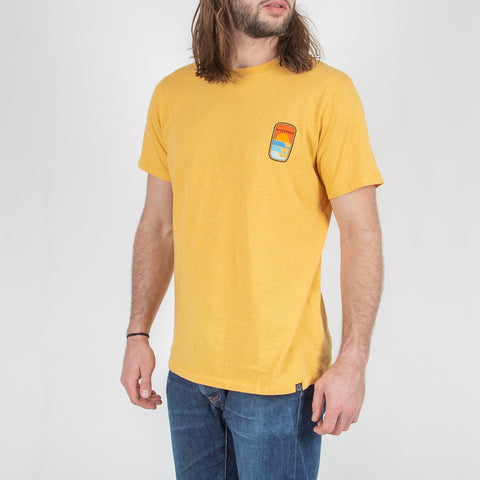 EMBARKER T-SHIRT - GOLDEN YELLOW MARL