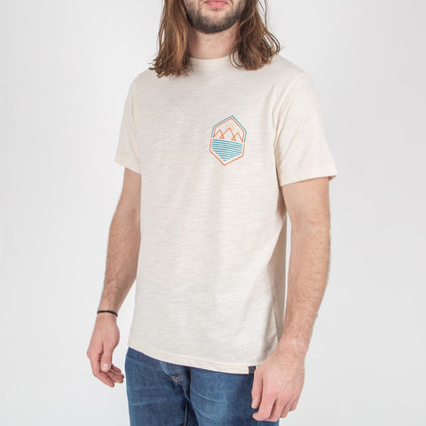 GUIDED T-SHIRT - CREAM
