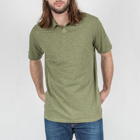 PORTLAND POLO T-SHIRT - LEAF GREEN