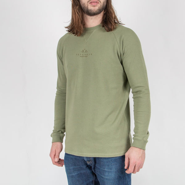 WESTPORT SWEATSHIRT - LEAF GREEN
