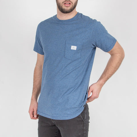 EVERYDAY T-SHIRT - DARK DENIM MARL