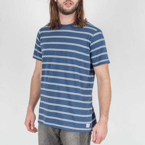 MONKHEAD T-SHIRT - DARK DENIM STRIPE