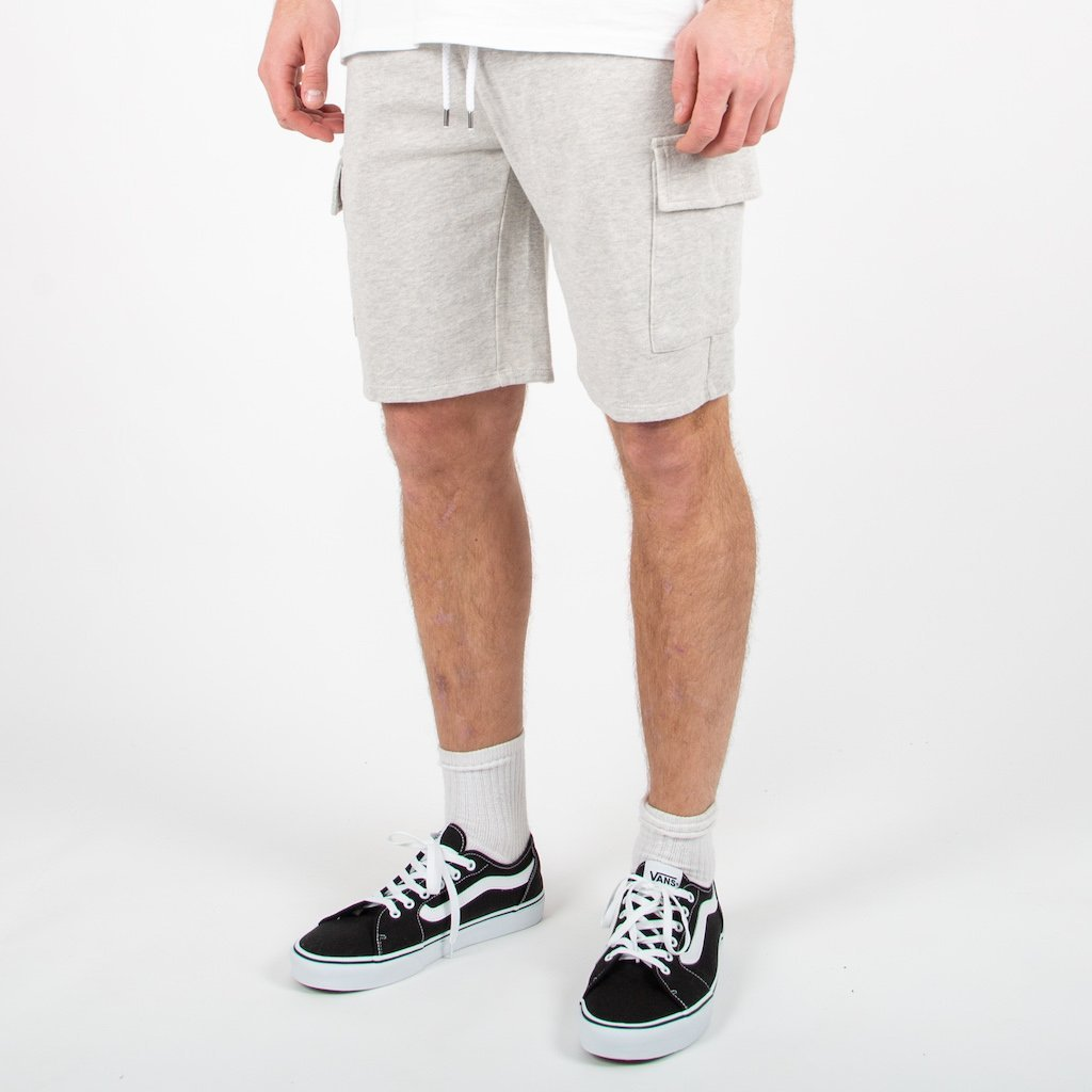 Tourer Jog Shorts - Grey Marl image 5