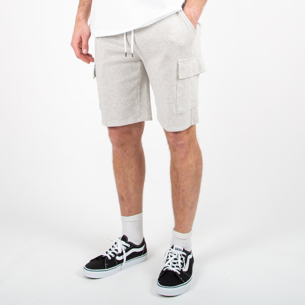 Tourer Jog Shorts - Grey Marl image 3