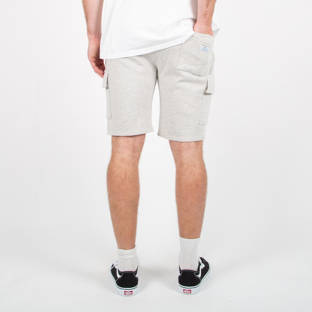 Tourer Jog Shorts - Grey Marl image 6