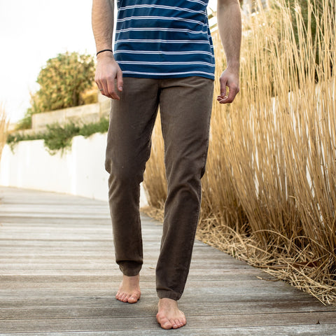 Daily Cord Trousers - Tan