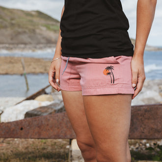 Deck Hybrid Shorts - Mango Orange