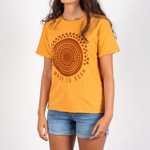 DUNES T-SHIRT - GOLDEN YELLOW