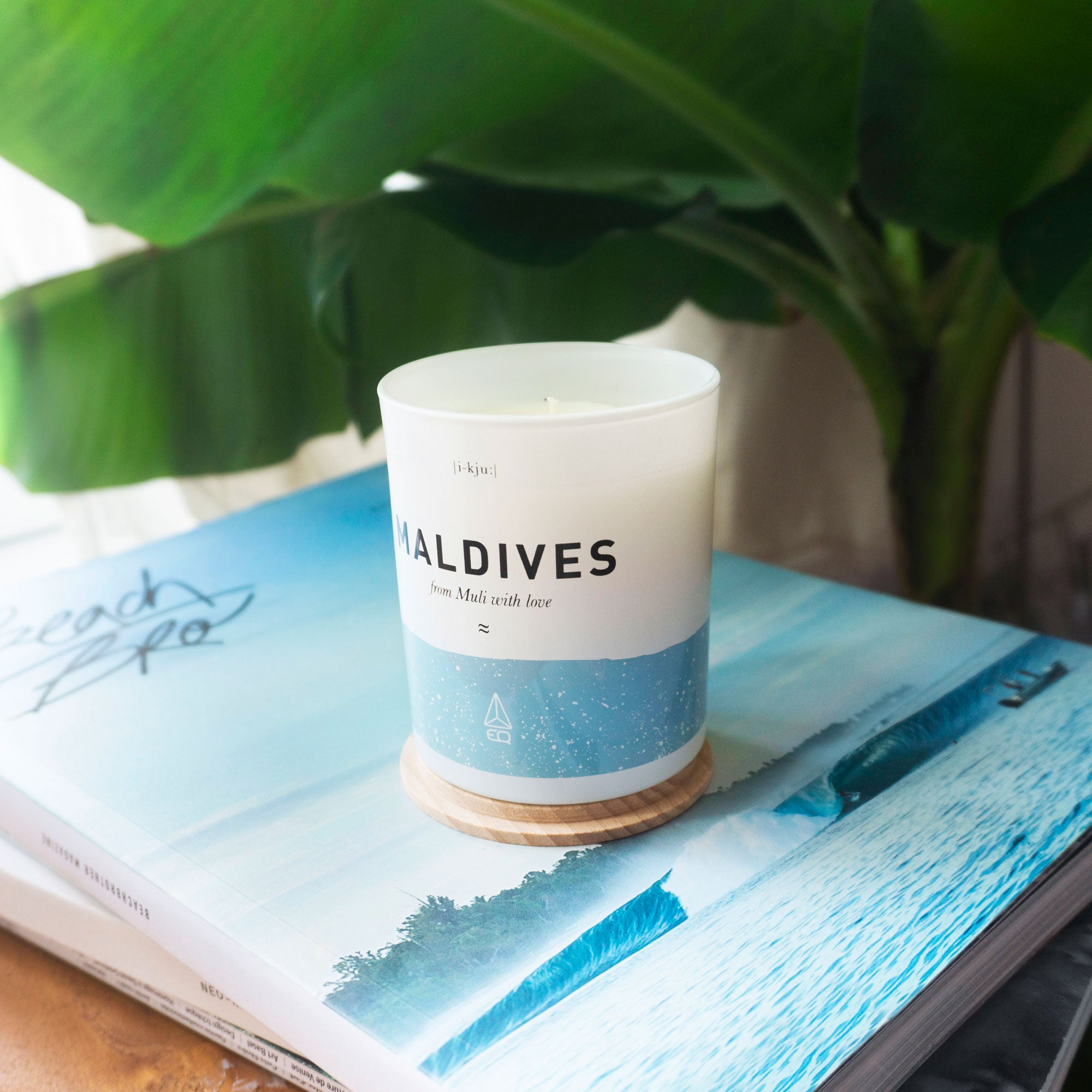 EQ Scented Candle - Maldives image 1