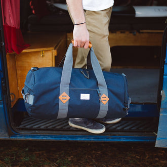 Escape It All Duffle Bag 28L - Navy Marl