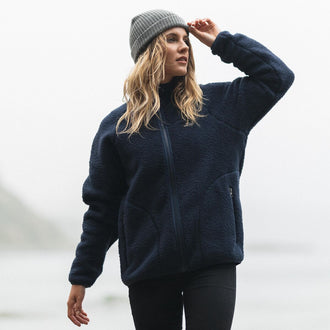 Fairbanks Fleece - Navy