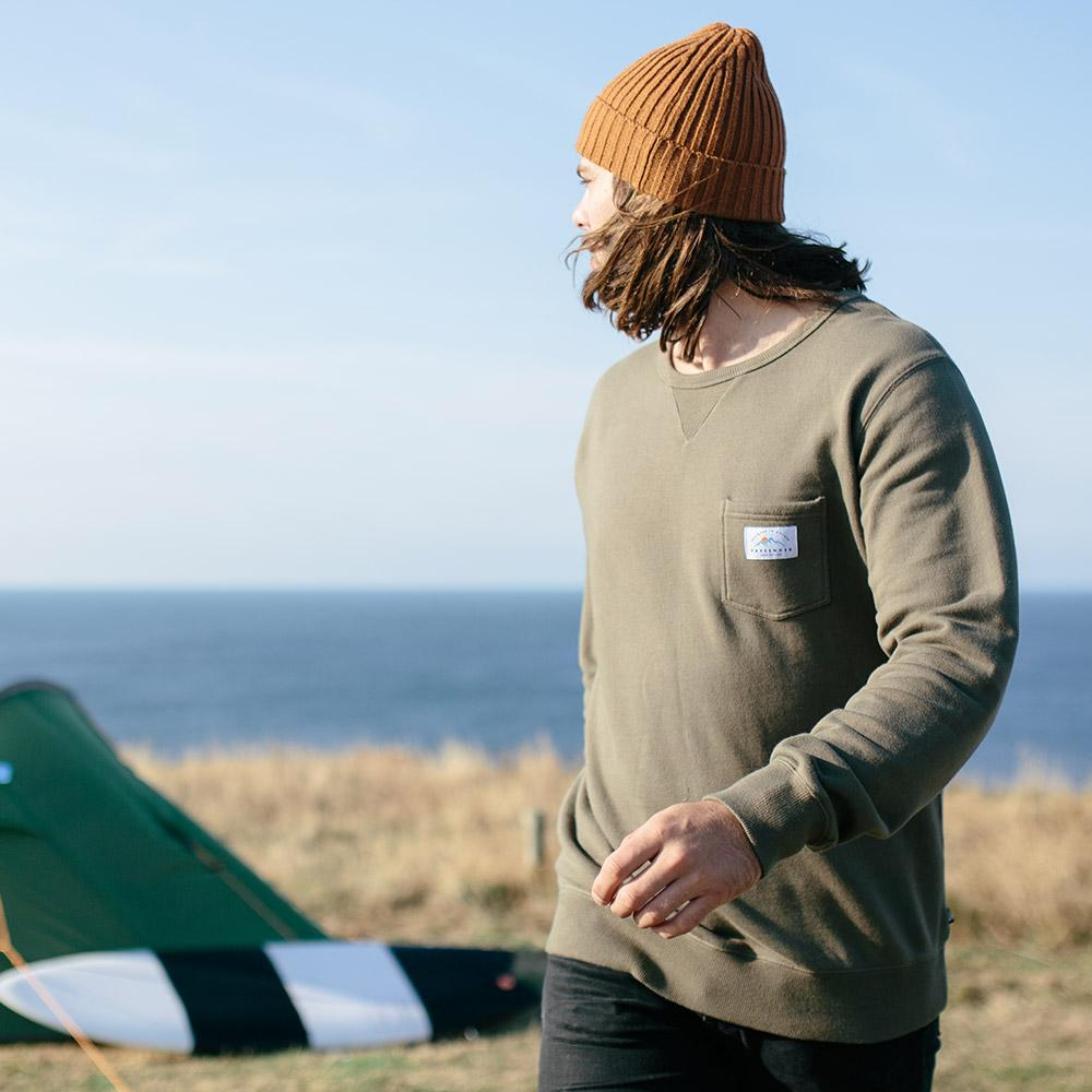 Faroe Sweater Green