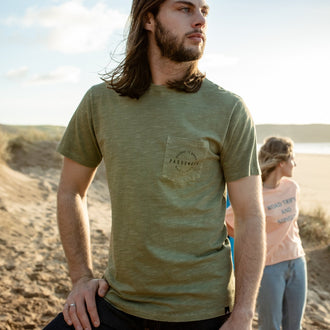 FOREST T-SHIRT - LEAF GREEN