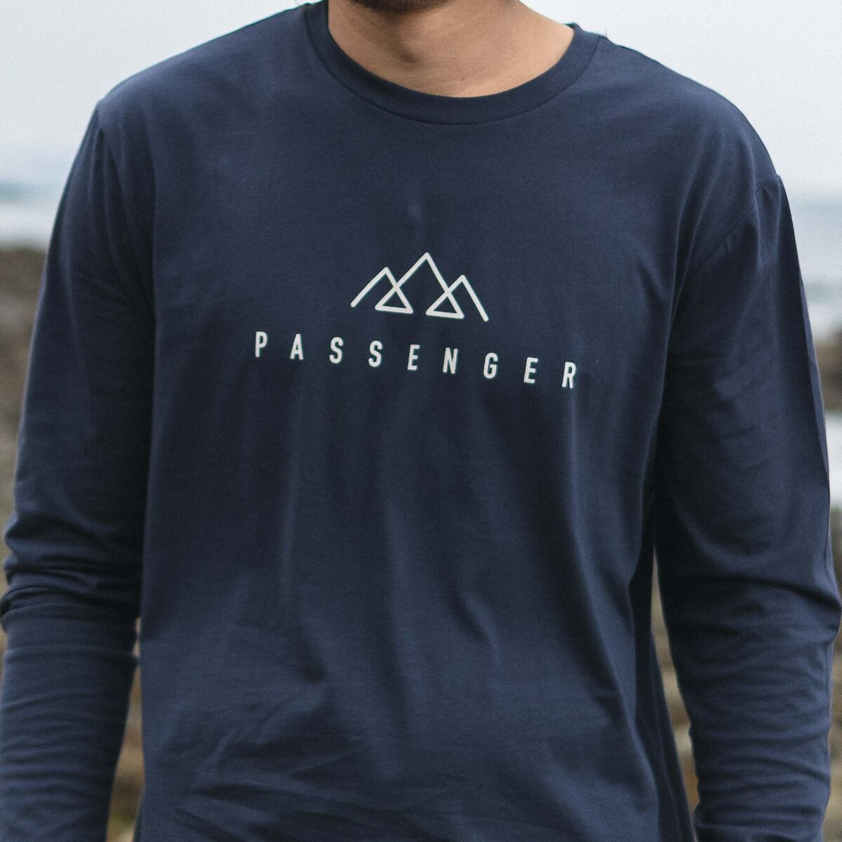 Hatchet  L/S T-Shirt - Navy image 2