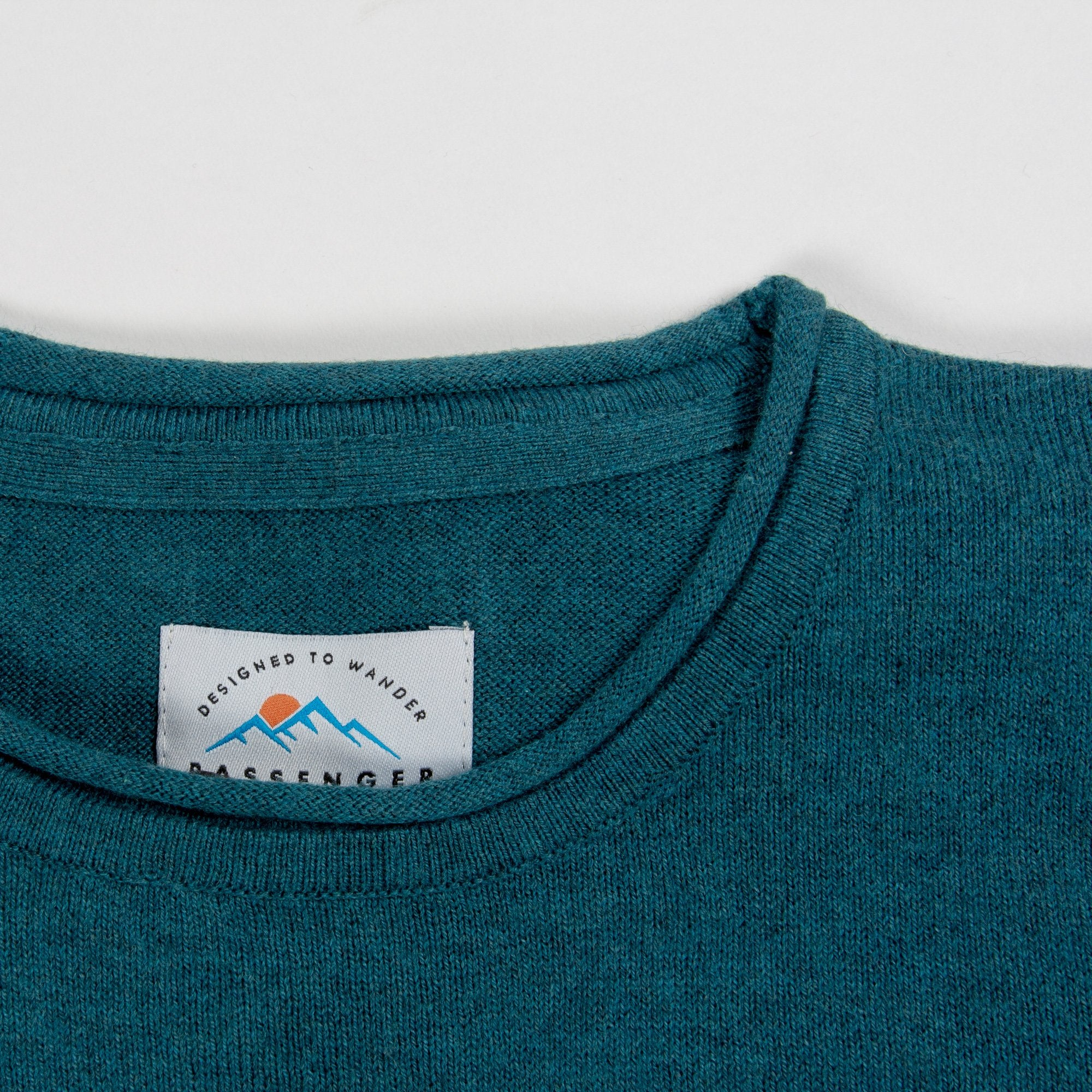 Himalayas Knitted Sweater - Teal image 4