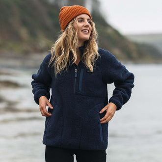 Home Fleece - Navy