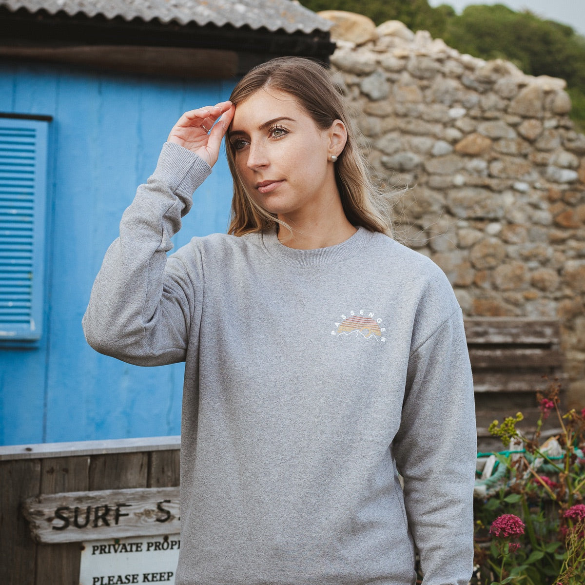 Hot Springs Sweat - Grey Marl image