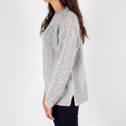 Greenland Knitted Sweater - Light Grey