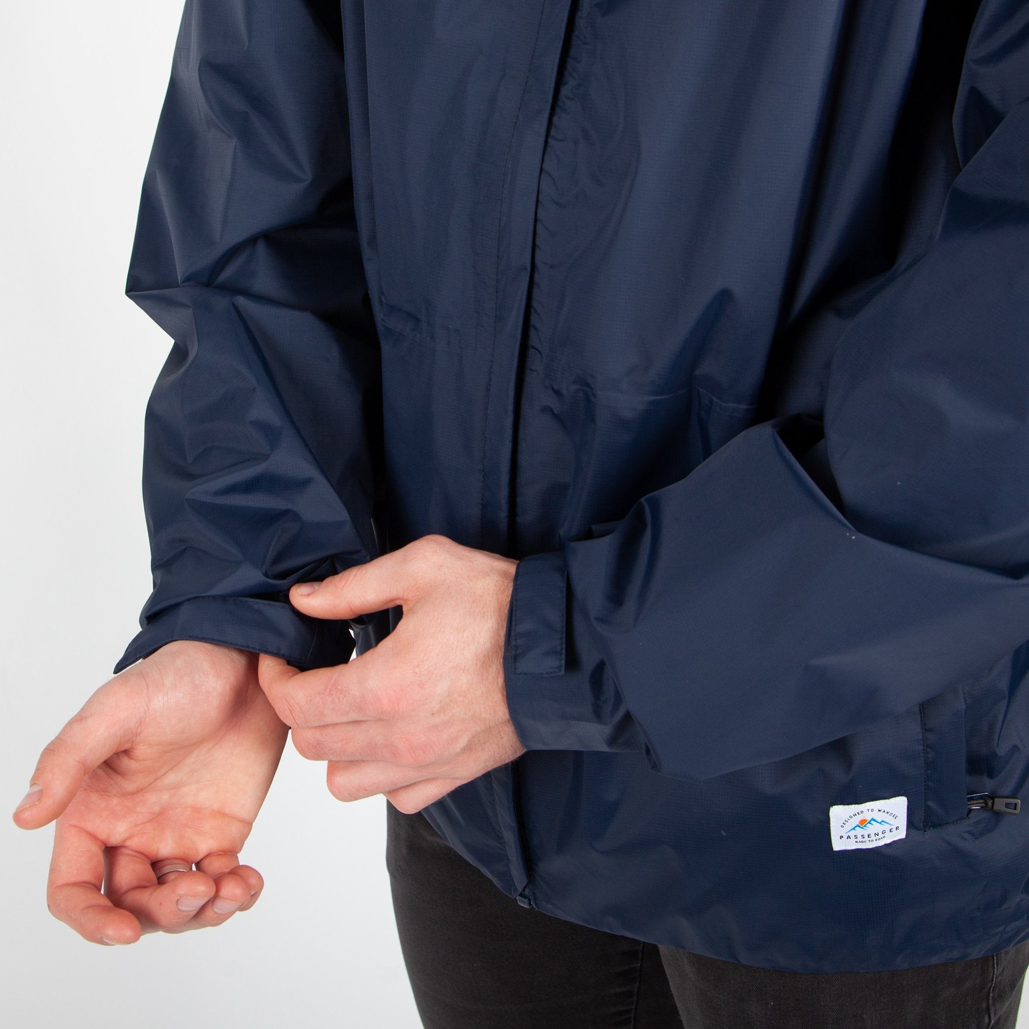 Norcal Waterproof Jacket - Navy image 9