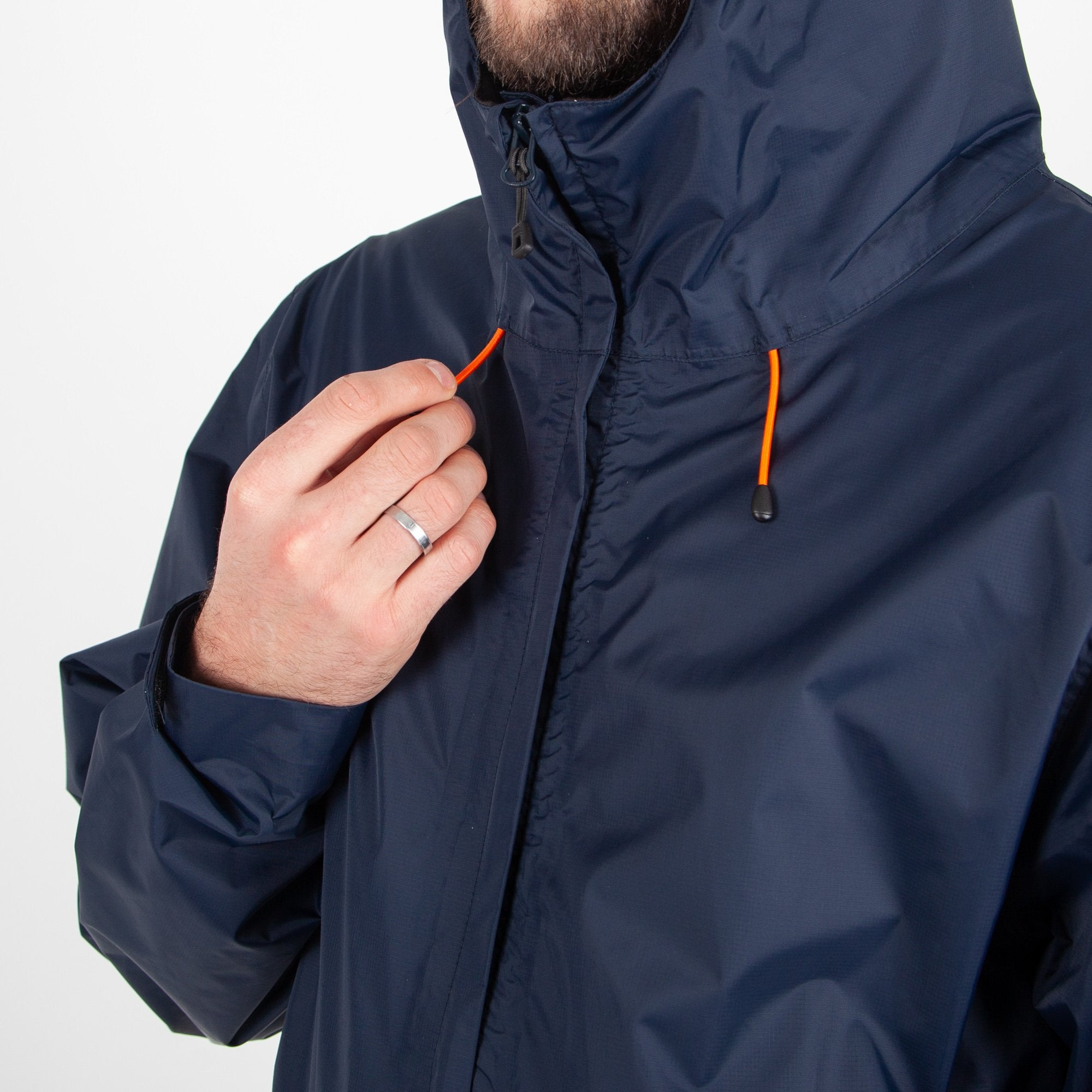 Norcal Waterproof Jacket - Navy image 4
