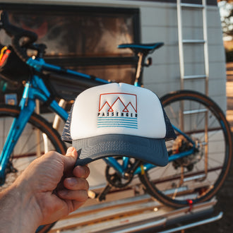 Sambar Cap - Navy, White, Teal