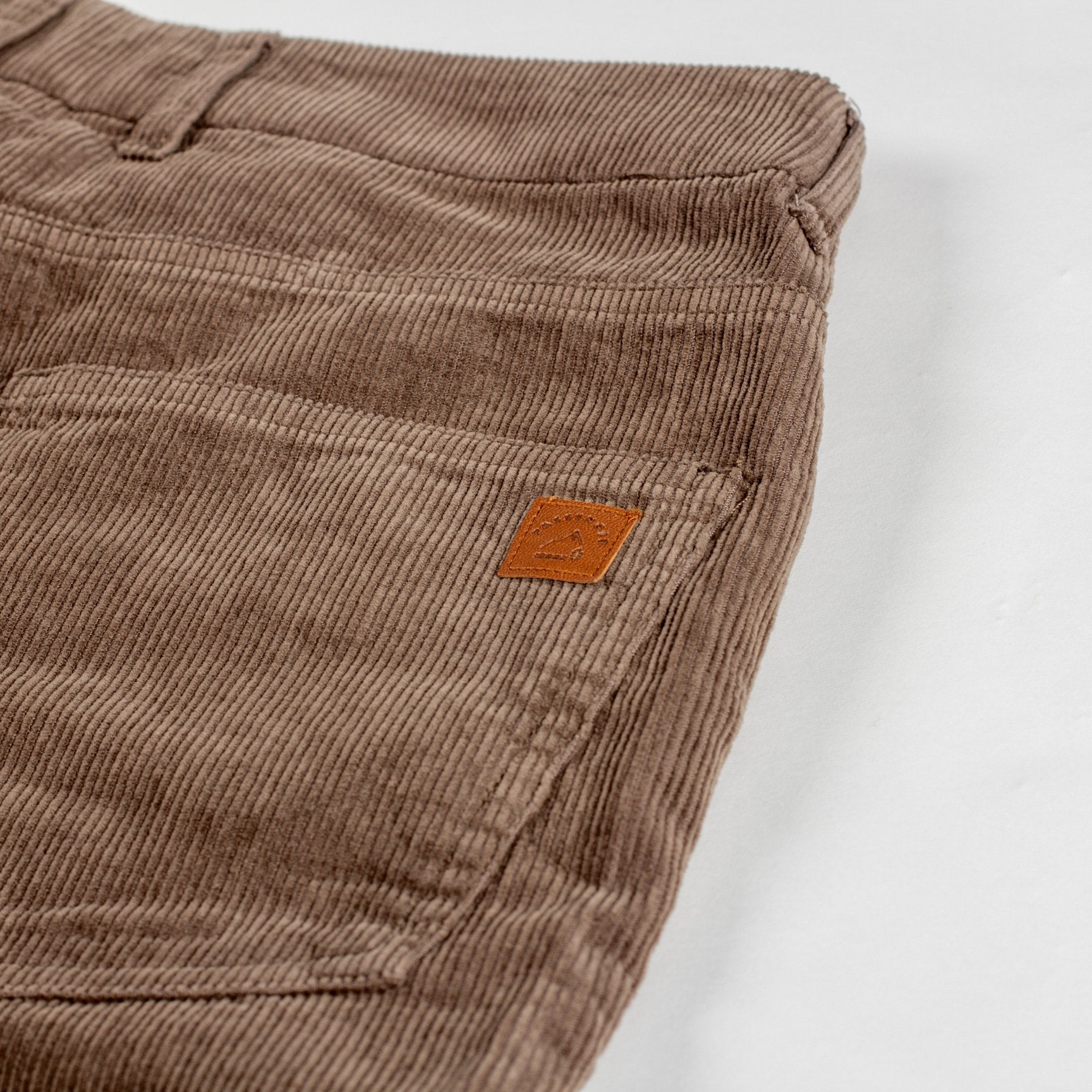Daily Cord Trousers - Tan image 2