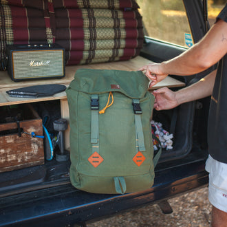 Pioneer Day Pack 26L - Olive/ Black