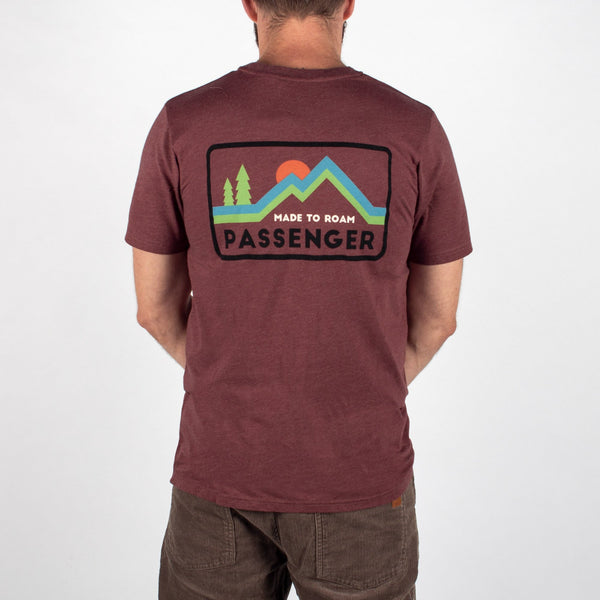 Out there T-Shirt - Russet