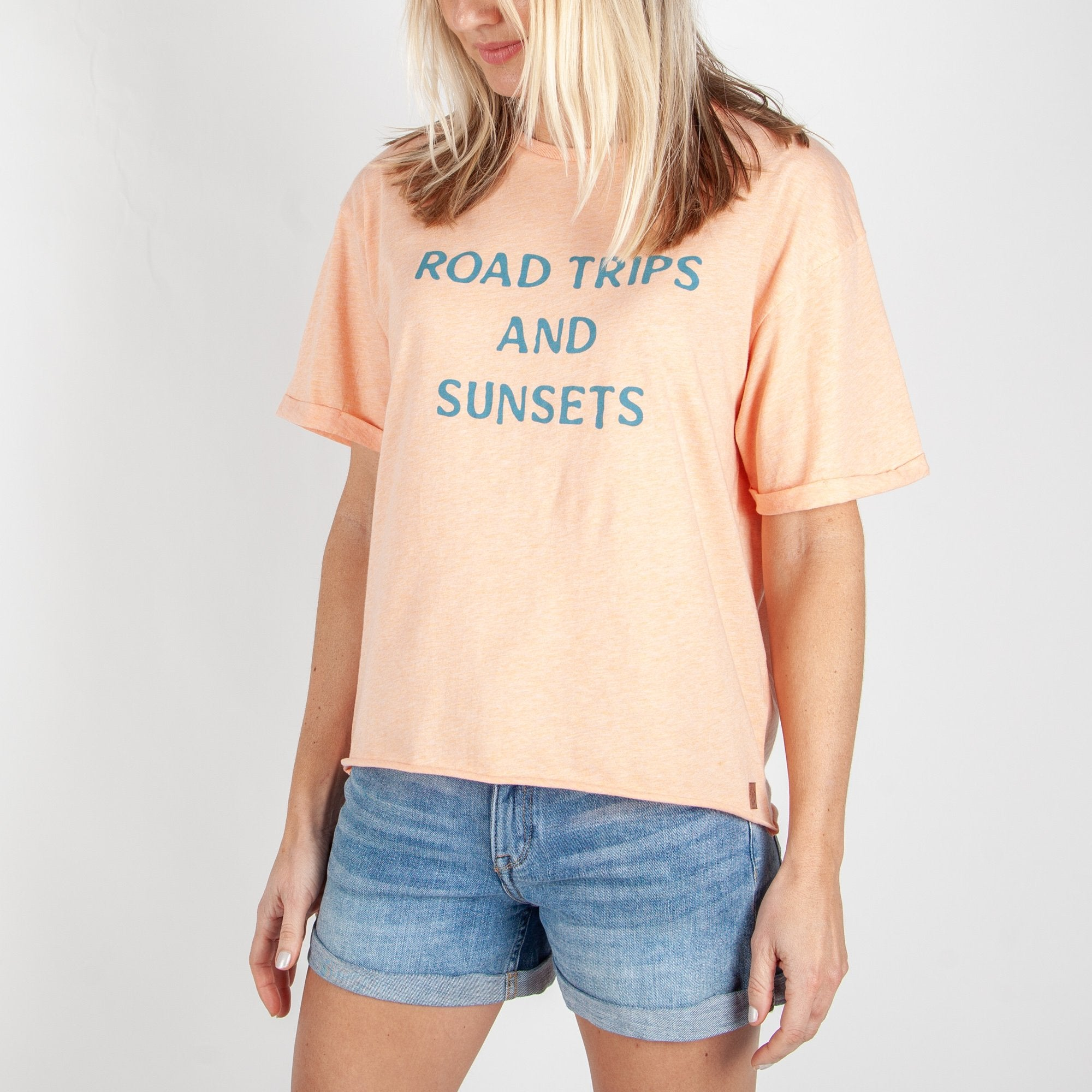 Bellvue T-Shirt - Lobster Pink Marl image 4