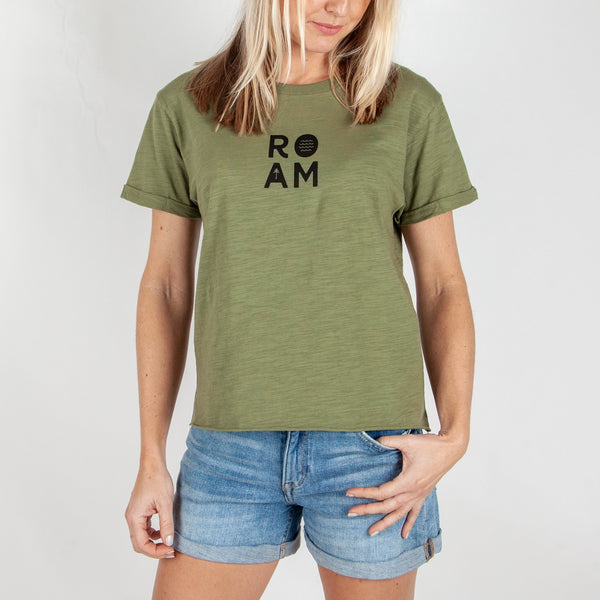 PNW T-SHIRT - LEAF GREEN
