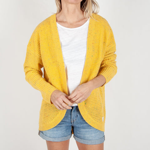 SHACK CARDIGAN - GOLDEN YELLOW